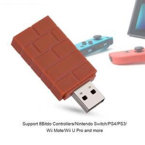 8-Bitdo-Wireless-Bluetooth-Receiver-USB-Adapter-for-Nintendo-Switch-PS4-Wii-U