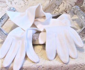 Vintage-Kayser-Roth-Women-039-s-Long-Ivory-White-Evening-Gloves-for-Prom-Formal