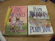 Fool Me Once + Plain Jane by Fern Michaels