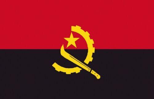 Angola  Afrika Flagge Fahne Hißflagge Hissfahne 150 x 90 cm