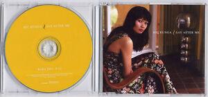 BIC RUNGA Say After Me 2005 UK 1-track promo CD