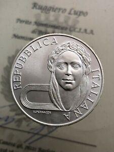 500-Livre-Barcelona-1992-FDC-der-Republik-Italienisch-Gedenkmuenzen