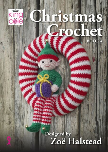 King Cole Christmas Crochet Pattern Booklet Book 5