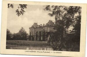 CPA Lascazeres (Hautes-Pyrenées) - Le chateau (172970)