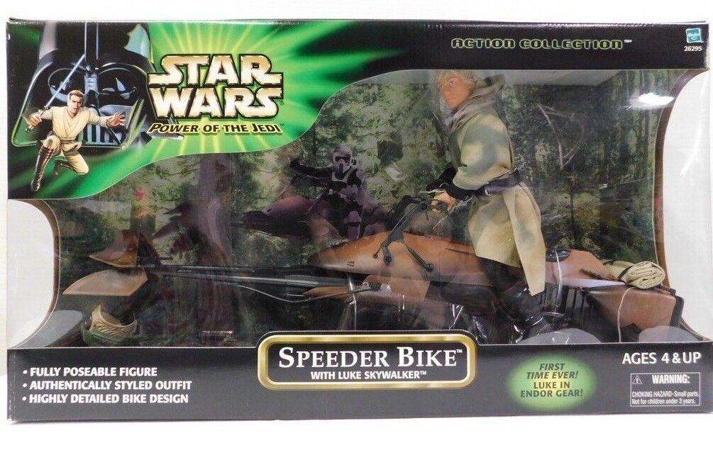 Star - wars - großmacht des force - raser fahrrad mit luke skywalker 2001 nib