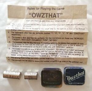 Vintage-034-Owzthat-034-metal-Cricket-Game-gambling-game