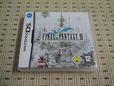 Final Fantasy III 3 para Nintendo DS, DS Lite, DSi XL, 3ds