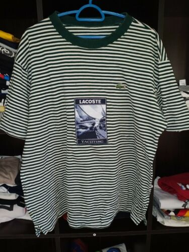 Lacoste Yachting Tshirt Striped Patches