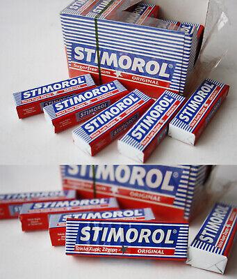 5X RARE VINTAGE 90/'S STIMOROL CHEWING GUM PACKS DENMARK NEW SEALED NOS !