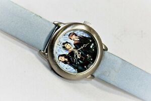 2005-NWT-Harry-Potter-Goblet-of-Fire-Warner-Bros-Kid-039-s-Wrist-Watch-New-Battery