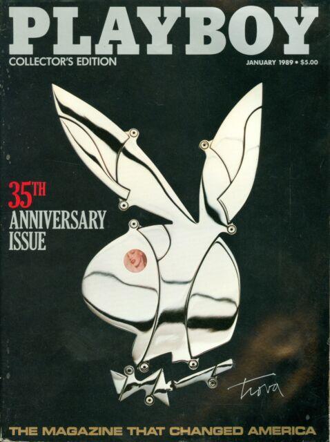 Playboy Magazine - January 1989 - 30th Anniversary Issue (Robert DeNiro Intrvw)