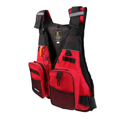 Multi Pocket Life Jacket Surf Kayak Vest Canoe Fishing  Rescue Fishing Vest