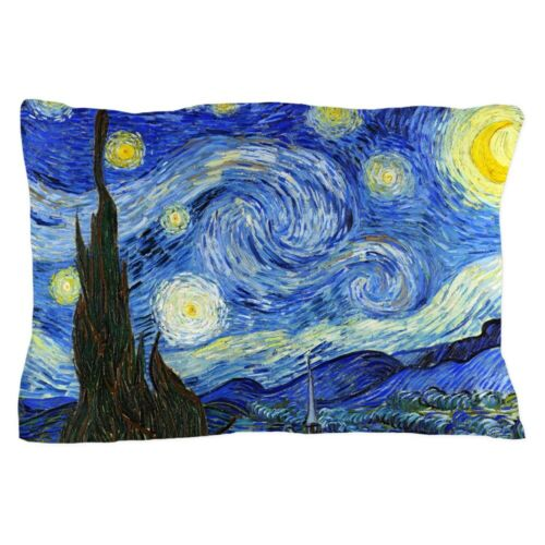 "20/""x30/"" 629501923 CafePress Van Gogh Starry Night Standard Size Pillow Case"