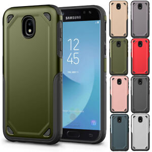 cheaper d042a 3725a For Samsung Galaxy J3 J5 J7 Pro 2017 Slim Hybrid Shockproof Rubber ...