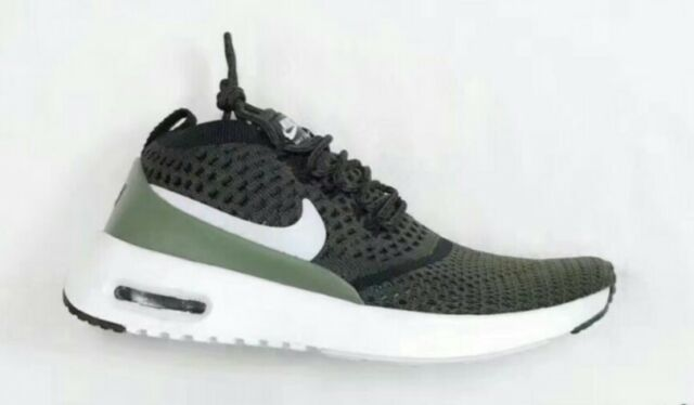 lowest price 2b175 99846 Nike WMNS Air Max Thea Ultra FK Flyknit Green White Women Shoes NSW  881175-300 9