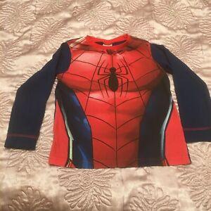 Boys Spiderman Top 5-6 Years fancy dress