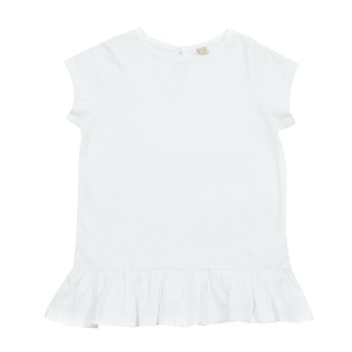 Baby Girl Girls Short Sleeve Frill Ruffle Tunic Top T-Shirt Dress Kid Child Tee