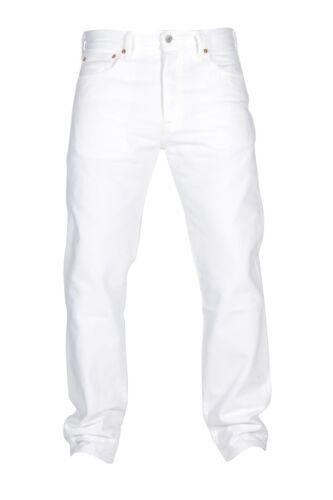 Bianco Jeans Taglie Nuovo Fit Levis Con Fly 501 tag Original Uomo Button Taglie rn8rvxz