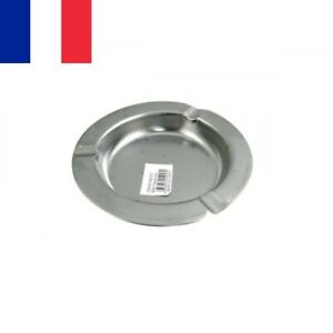 Cendrier en Aluminium 12 cm Fin et Léger avec 3 Repose Cigarette