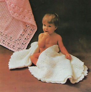 Details about BABY GIRLS BOYS SQUARE & CIRCULAR SHAWLS CROCHET PATTERN  (1456)