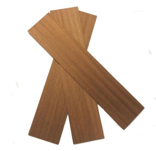 Mahogany Wood Panels 100mm x 450mm x 6mm Pack of 3 Sheets MAH4X3