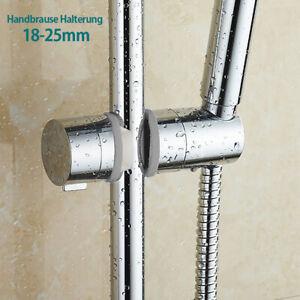 1-2-Duschkopfhalter-Handbrause-Halterung-Duschkopf-Halterung-Verstellbar-18-25mm