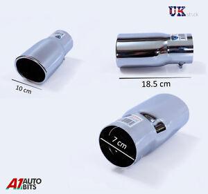 Universal-Cromada-De-Escape-final-Mofle-Pipa-Punta-Trim-Cola-Fit-44-73mm