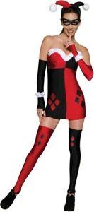 Batman-Movie-Harley-Quinn-Costume-Secret-Wishes-Joker-DC-Comics-Adult-Small