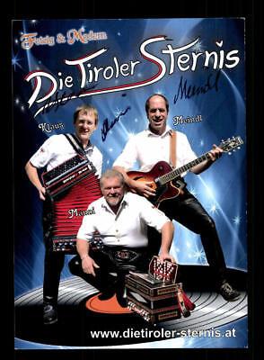 National Kompetent Die Tiroler Sternis Autogrammkarte Original Signiert ## Bc 116858 Sammeln & Seltenes