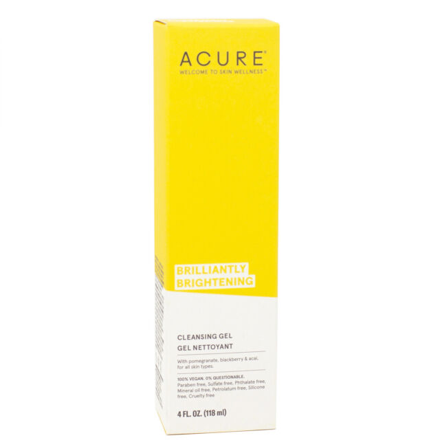 Facial Cleanser By Acure - 4 Fluid Ounces