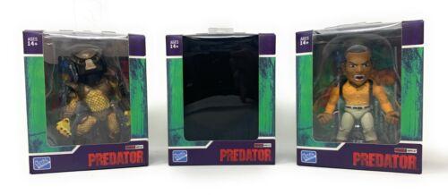 Blind-Lot of 3 Predator Loyal Subjects Action Vinyls City Hunter Mike Harrigan