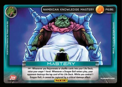 DRAGON BALL Z 2014 DBZ PANINI TCG RARE Namekian Knowledge Mastery R131