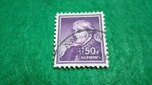 Francobollo Stati Uniti 50 Cents Susan B Anthony 1954, Scott 1051. Stamp U.S