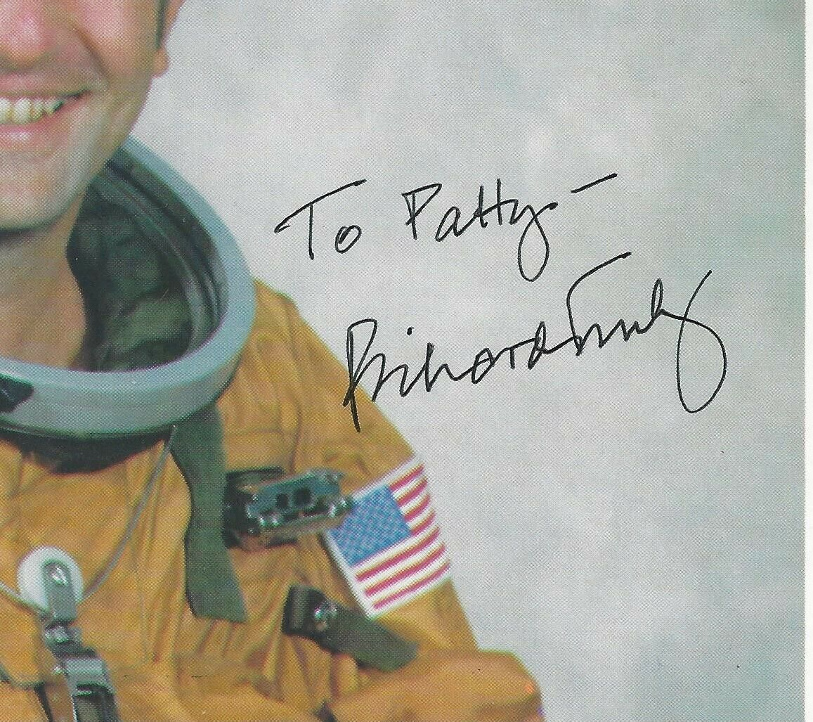 """s l1600 - Richard H. Truly, NASA Astronaut, Signed & Inscribed 8"""" x 10"""" Color Photo, COA"""