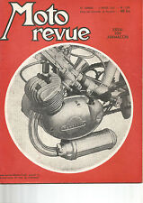MOTO REVUE N°1.228 ESSAI 250 AERMACCHI / BMW / 250 AER MACCHI / MOTOBECANE Z22C
