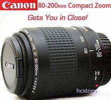CANON EOS EF 80-200mm AF Zoom Lens, Telephoto for Rebel~Digital~Film XLNT CLEAN!