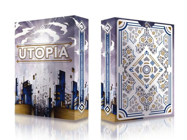 Utopia Deck Playing Cards by Card Experiment Made By Bicycle Playing Cards New