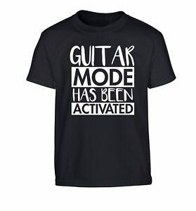 kid/'s t-shirt guitar electric acoustic strum lyrics 3984 Future bass player