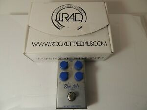 J. Rockett Blue Note Tour Series Overdrive Boost Effects Pedal Free USA Ship