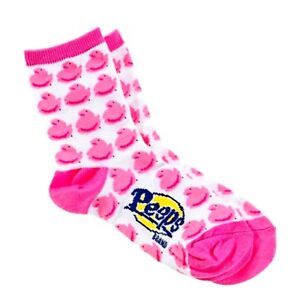 1X-Peeps-Pink-Chick-Socks-Youth-SMALL-See-Label-For-Shoe-amp-Sock-Size-Info