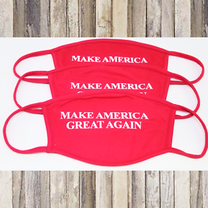 3PCS-Face-Mask-Soft-Cotton-Unisex-Reusable-MAKE-AMERICA-GREAT-AGAIN-RED