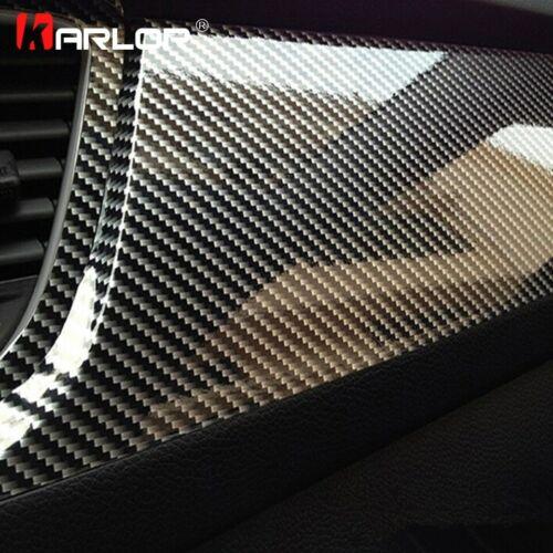 Top 5D Carbon Fiber Vinyl Film Car motorcycle Styling Wrap Sticker Waterproof