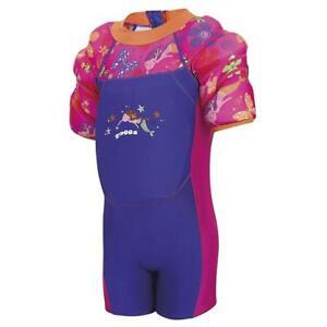 Zoggs-Mermaid-Flower-Water-Wing-Float-Suit-2-3-Years