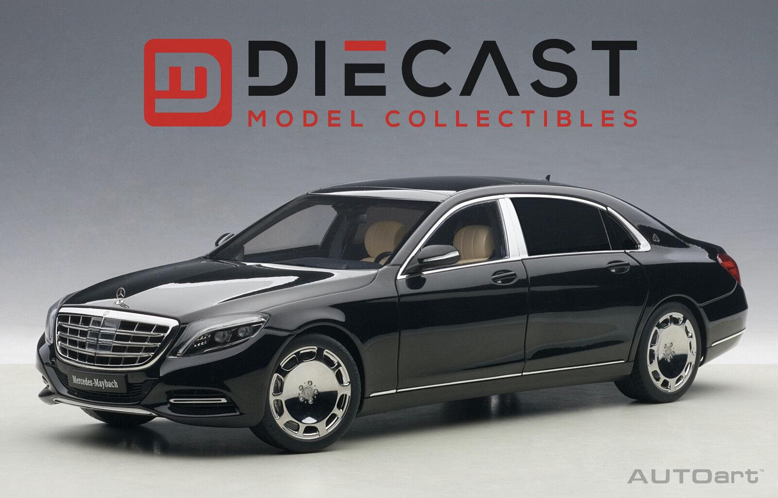 AUTOART 76293 MERCEDES Maybach S-Klasse, S600, 1 18TH noir échelle