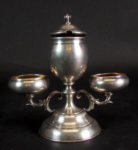 ausgefallene Etagere - 13 Lot Silber