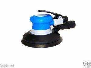 "H-D 6"" Palm Air Sander Random Orbital D A Sander 10500 RPM with Vacuum dust tool"