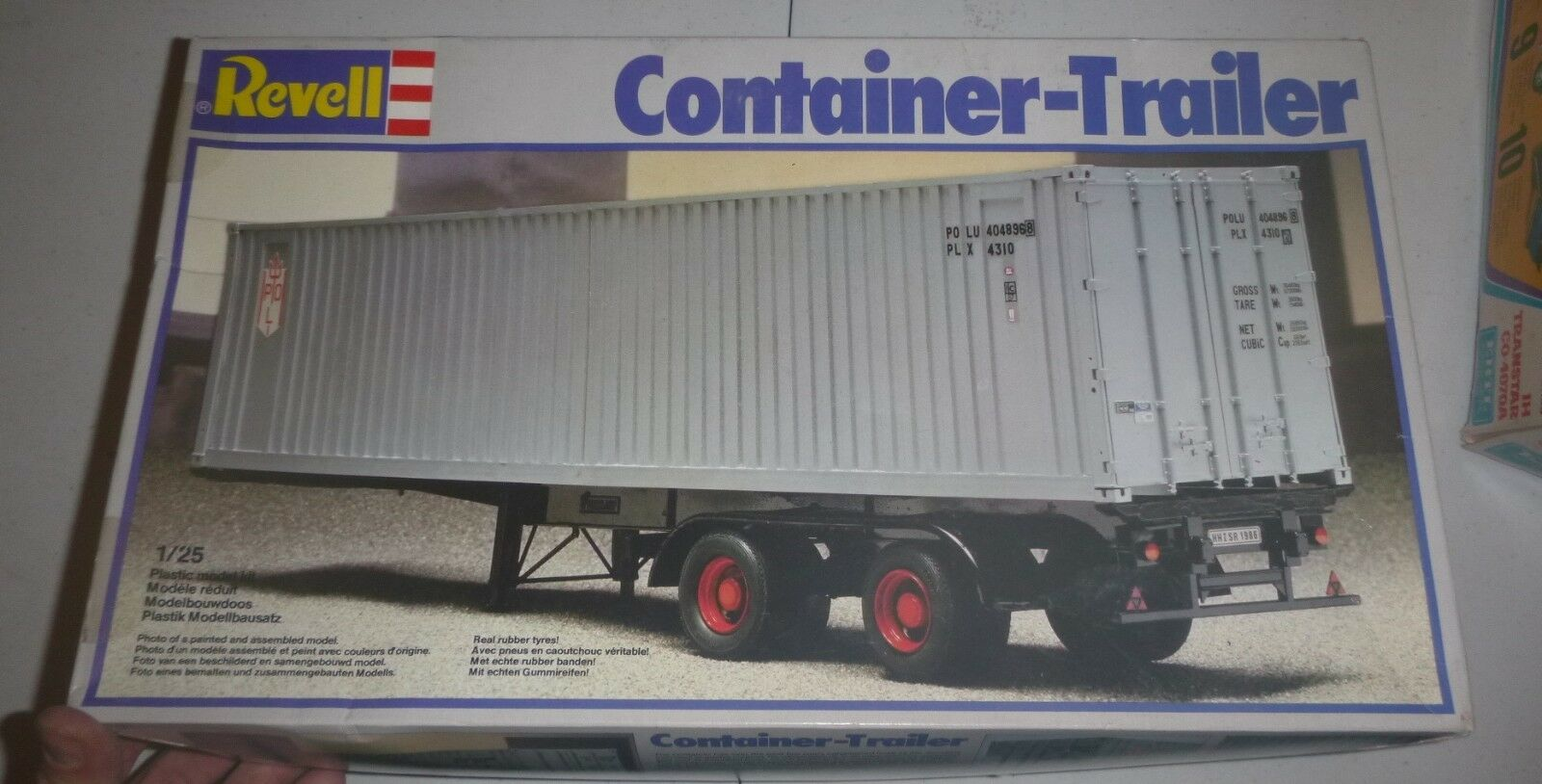 Revell 7416 TR50 Container Trailer 1 25 MODEL CAR MOUNTAIN