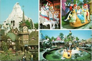 Disneyland-Fantasyland-Pinocchio-039-s-Village-Wonderland-Disney-Unused-Postcard-F20
