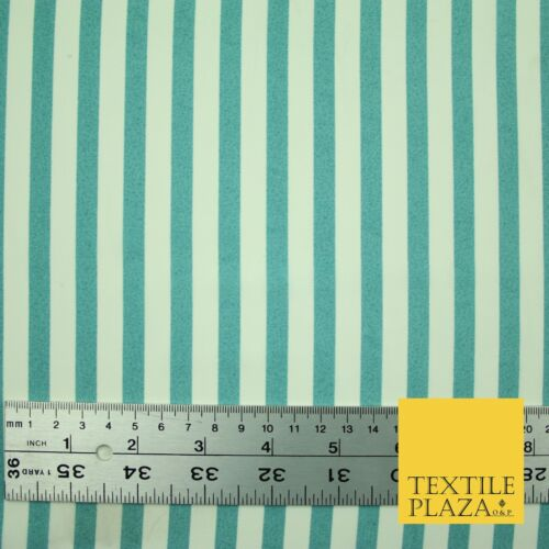 Candy Striped Thin Lines Pinstripe Printed Crepe Polyester Dress Stripe Fabric