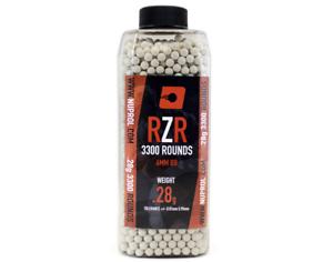 Nuprol RZR 3300rnd 0.28g BB's Highly Polished Airsoft High Grade 10 Bottles